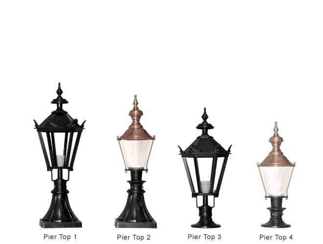 Pier top range of cast aluminium lighting at outdoor lighting ireland pier top lighting range audiocablefo Light database